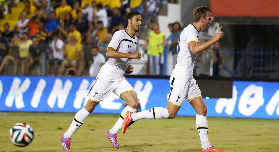 Tottenham fik med nød og næppe en sejr med hjem fra Cypern.