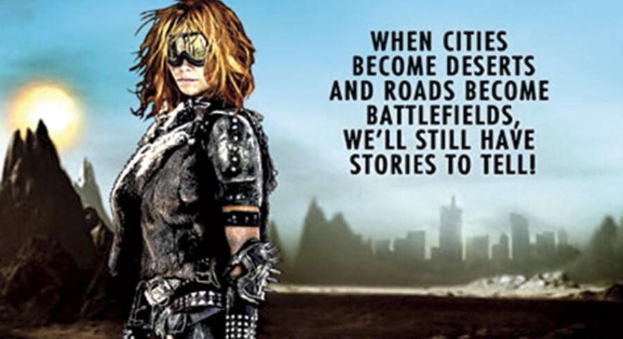 Udsnit af forsiden på dvd'en »Wasteland Tales«.