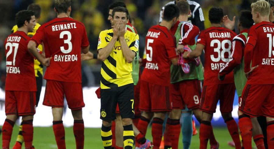 Leverkusen tog inden returkampen mod FC København til Dortmund og vandt med 2-0.