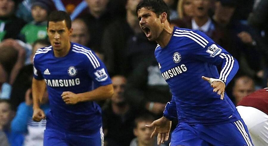 Diego Costa fejrer sin scoring mod Burnley