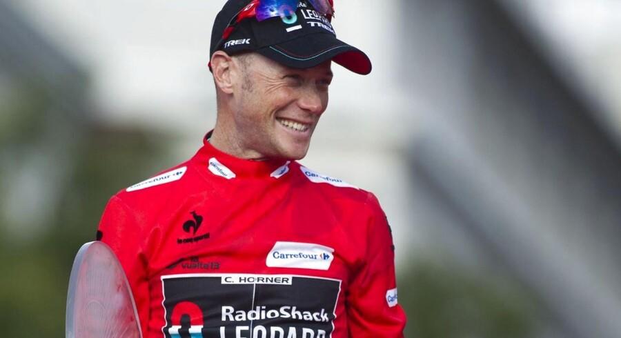 Chris Horner har måttet trække sig fra årets udgave af Vuelta a España.