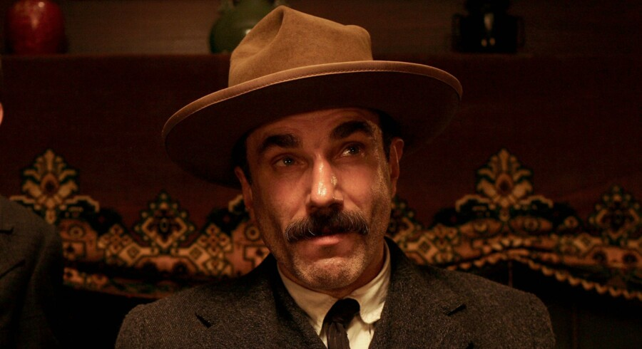 """Daniel Day-Lewis i Paul Thomas Anderson's """"There Will Be Blood""""."""