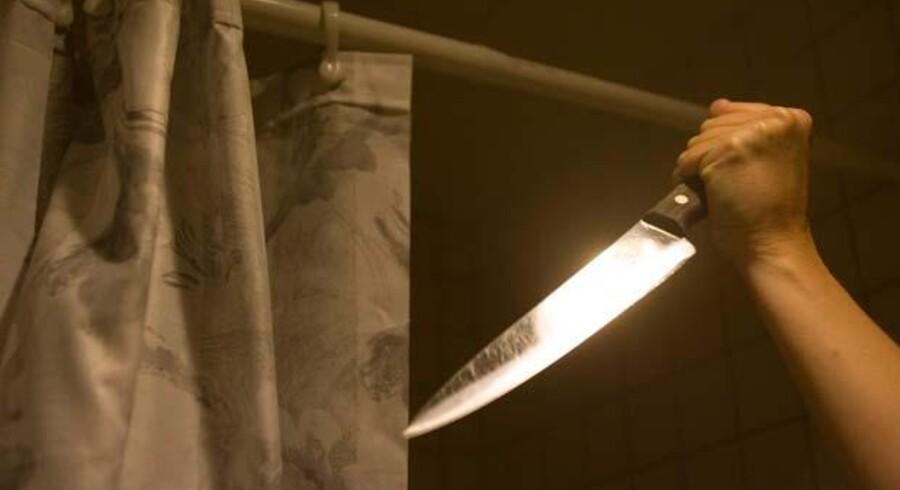 De skrigende strygere fra brusebadet i »Psycho« sender veer ud i ansigtet på alle i den stopfulde sal.