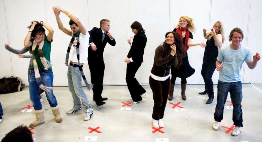 Ivrige unge til casting i Bella Centret i håb om at komme med til MTV European Music Award den 2. november.