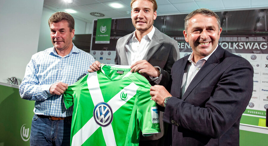 Den danske fodboldangriber Nicklas Bendtner skifter til bundesligaklubben Wolfsburg. (Foto: Jens Nørgaard Larsen/Scanpix 2014)