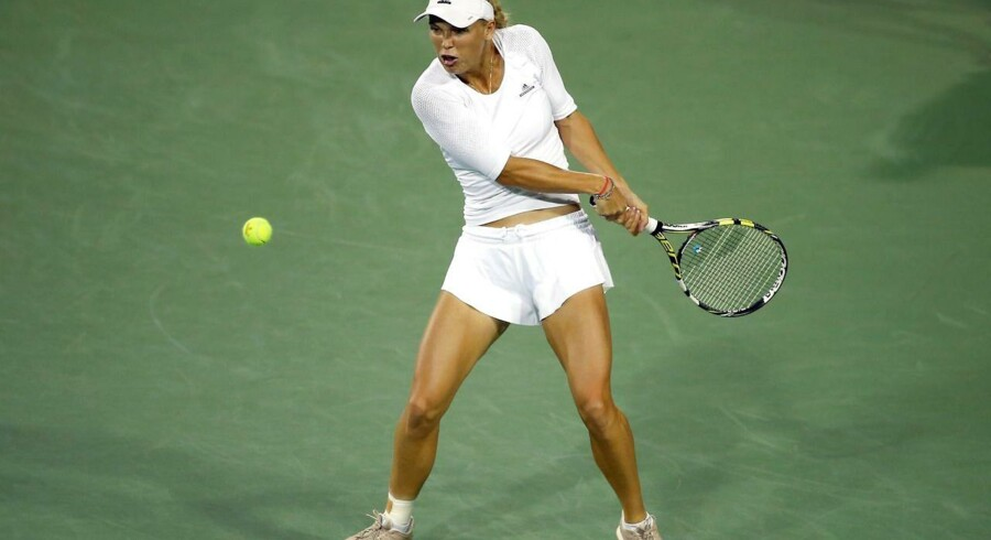 Caroline Wozniacki vandt over Angelique Kerber i Cincinnati.