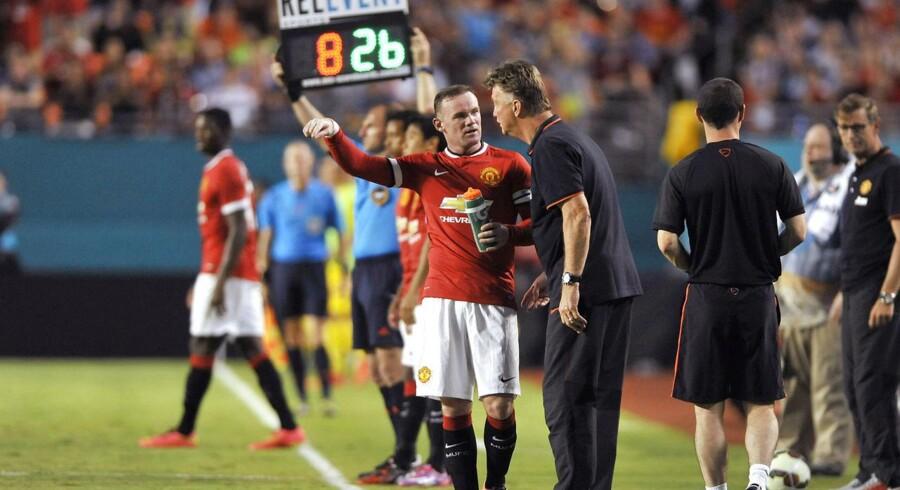 Wayne Rooney er ny kaptajn i Manchester United.