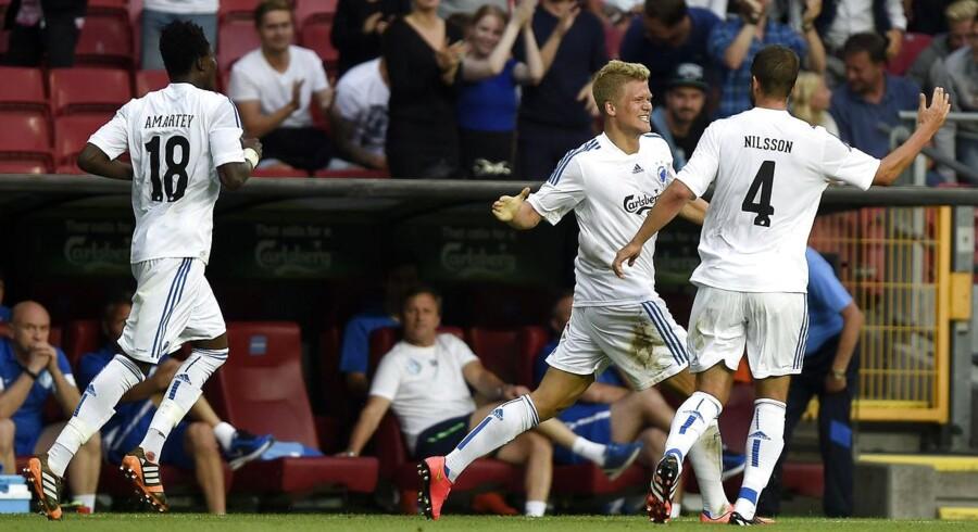Andreas Cornelius scorede det første mål, da FC København besejrede FC Dnipro og spillede sig videre i Champions League-kvalifikationen. Skal FCK slå den næste modstander, Leverkusen, er der også brug for en toppræstation fra angriberen.