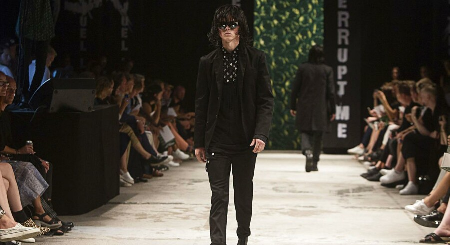 Asger Juel Larsen, Copenhagen Fashion Week 2014.