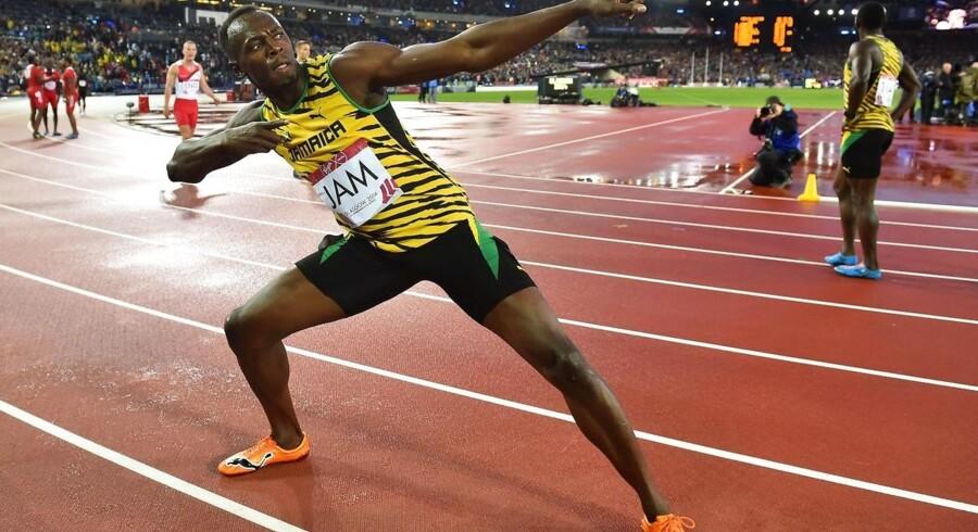 Usain Bolt indstiller sin aktive karriere efter OL i Rio de Janiero i 2016.