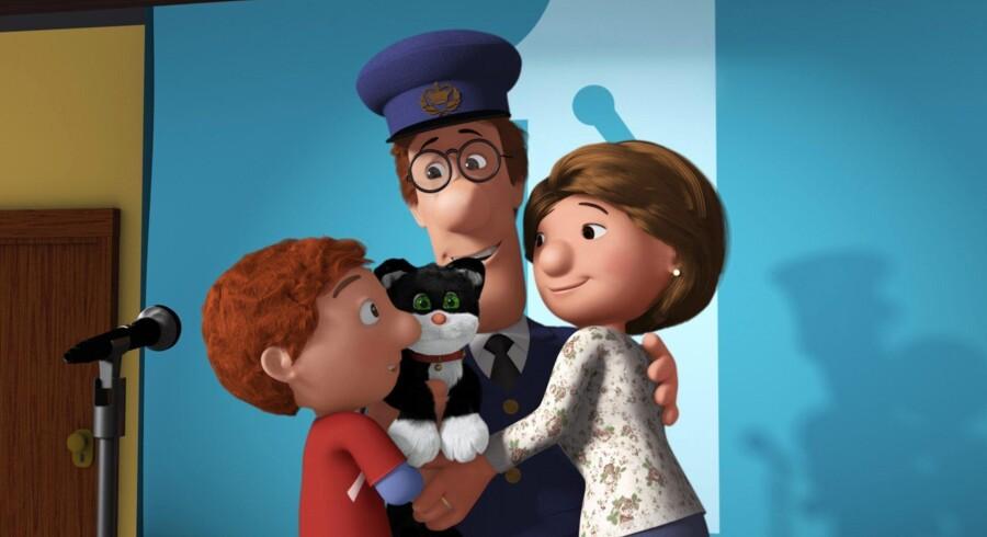 Postmand Per og hans familie trues af en rationaliseringsekspert i sin første biograffilm.