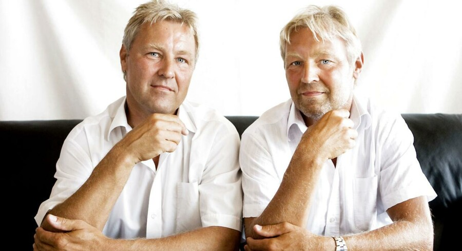 Troels (tv) og Villum Christensen (th). Arkivfoto: Lea Meilandt Mathiesen