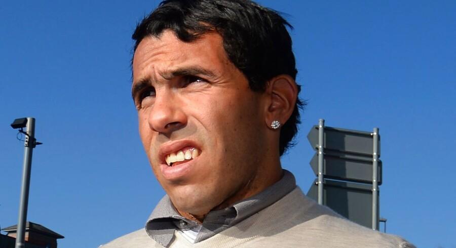 Carlos Tevez spiller til dagligt i Juventus.