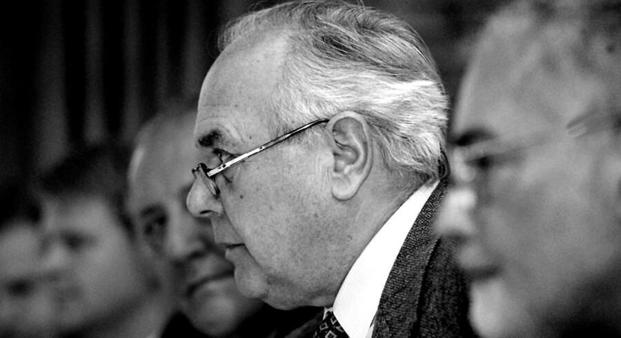 Georg Poulsen, her fotograferet i 1997, blev 84 år.