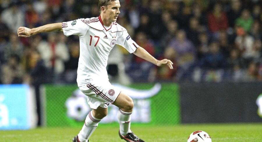Peter Løvenkrands er varm på at skifte til Superligaen.