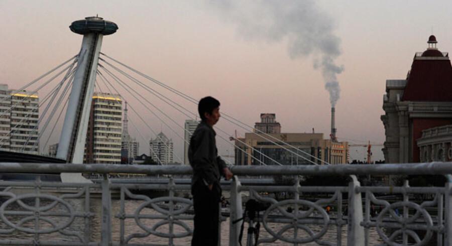 Klimaforhandlerne mødes i den kinesiske by Tianjan – en af de fire kinesiske byer, der står direkte under central regeringen i Beijing nordvest for byen.