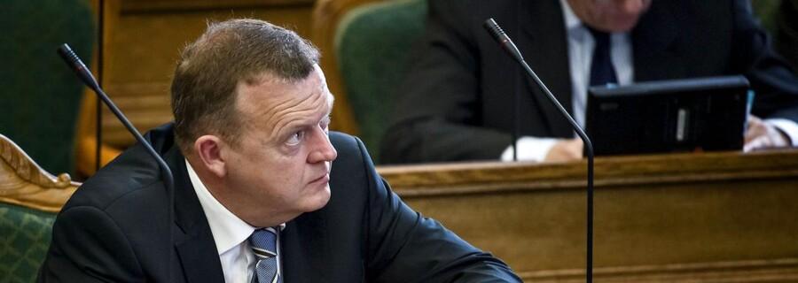 Lars Løkke Rasmussen, Venstre under afslutningsdebatten