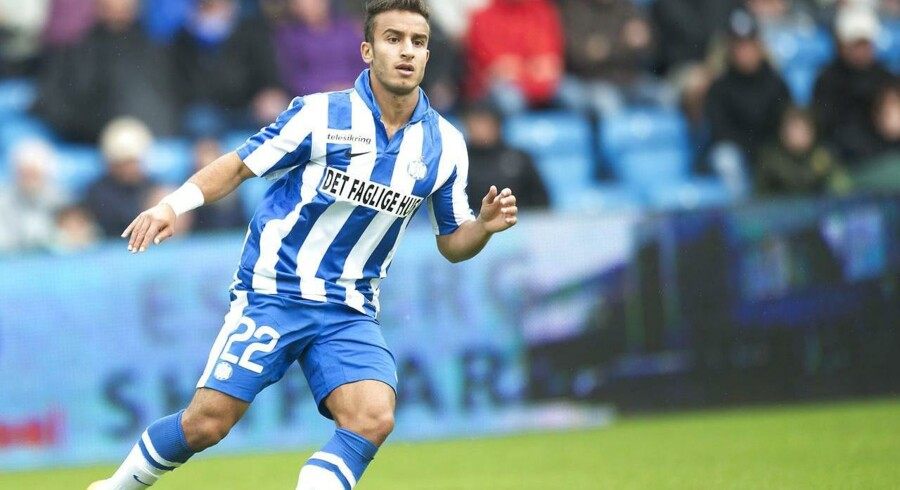 Mohammed Fellah blev Esbjergs målscorer i udekampen mod kazakhstanske Kairat, der endte 1-1