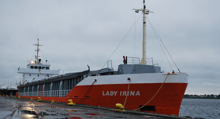 Skibet Lady Irina, hvor en person omkom og fire andre blev indlagt