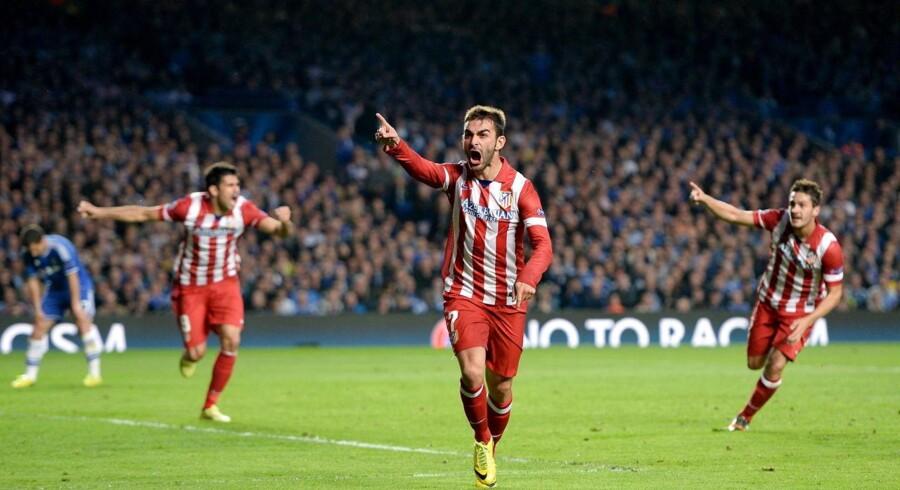 Atletico Madrids Adrian Lopez skifter til FC Porto.