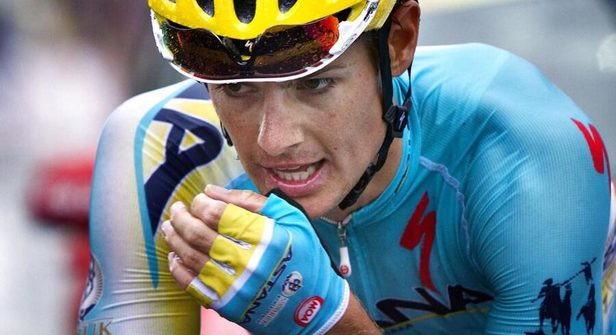 Jakob Fuglsang havde ikke sin bedste dag på 8. etape af Tour de France.