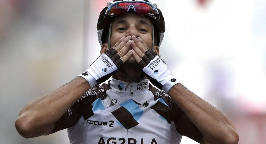 Blel Kadri (AG2R) vandt 8. etape af Tour de France.