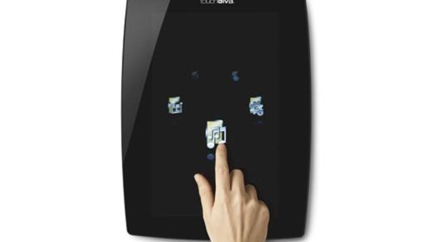 Touchdiva er et stereoanlæg, hvor musikken leveres på abonnement via nettet.