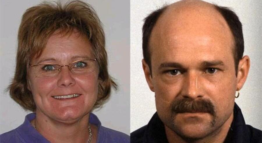 Den dræbte Kirsten Bay Andersen og den drabstiltalte John Knudsen.