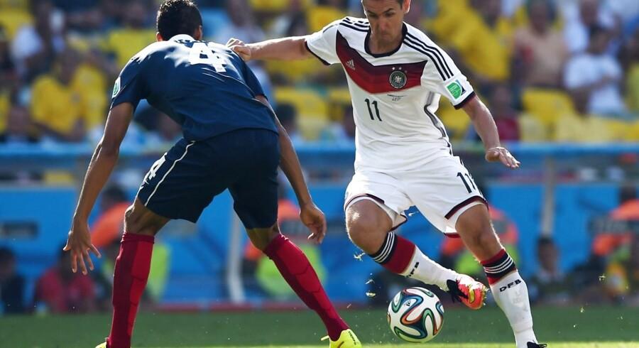Miroslav Klose kan blive den mest scorende VM-spiller nogensinde