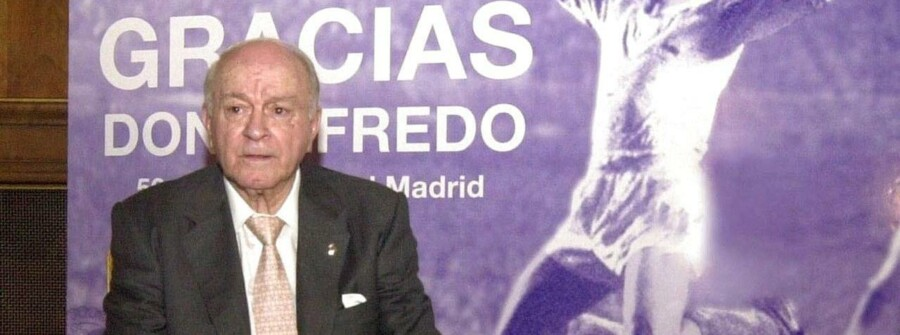 Alfredo di Stéfano i 2003.