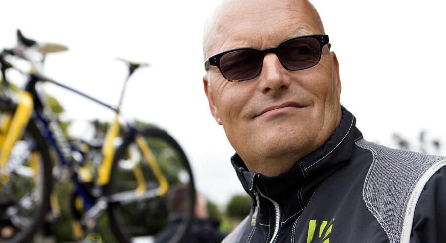 Bjarne Riis, sportschef på Tinkoff-Saxo, var godt tilfreds med resultatet af 3. etape.