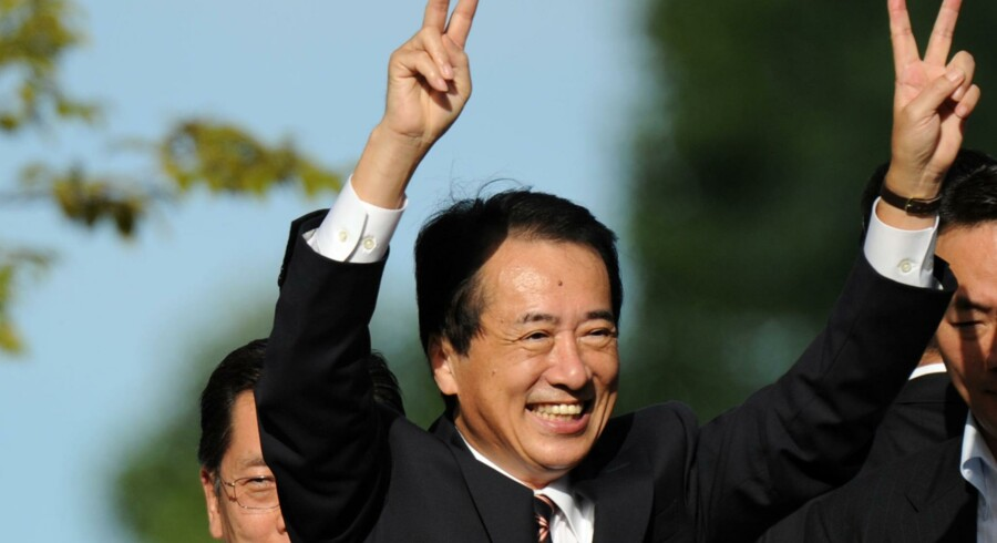 Japans premierminister Naoto Kan.