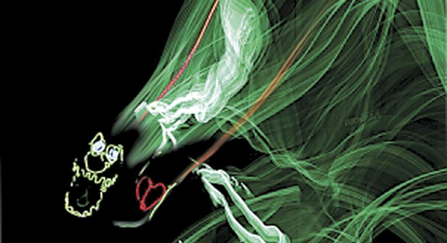 »Darwin – den magiske dinosaur«. skabt af Ian Carney og Corbin Popp. Bremen i Nyropsgade 39-41, København V. Sidste dag 12. september.