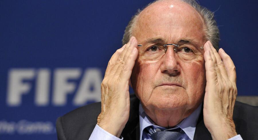 FIFA-præsident Joseph Blatter har god grund til at bekymre sig.