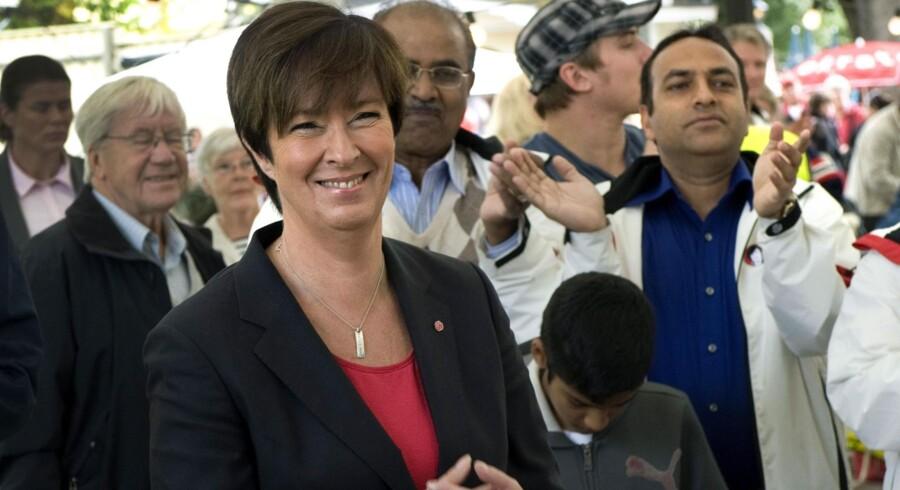 Det kører ikke for Socialdemokraternas formand og statsministerkandidat, Mona Sahlin.