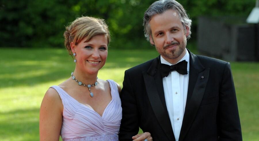 Prinsesse Märtha Louise med sin mand Ari Behn.