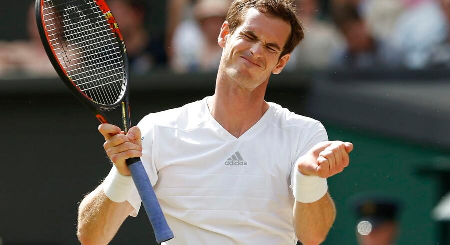 Andy Murray tabte sin kvartfinale i Wimbledon til Grigor Dimitrov.