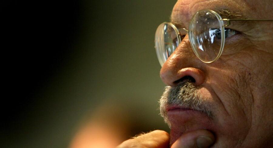 Den tyske forfatter Günther Wallraff.