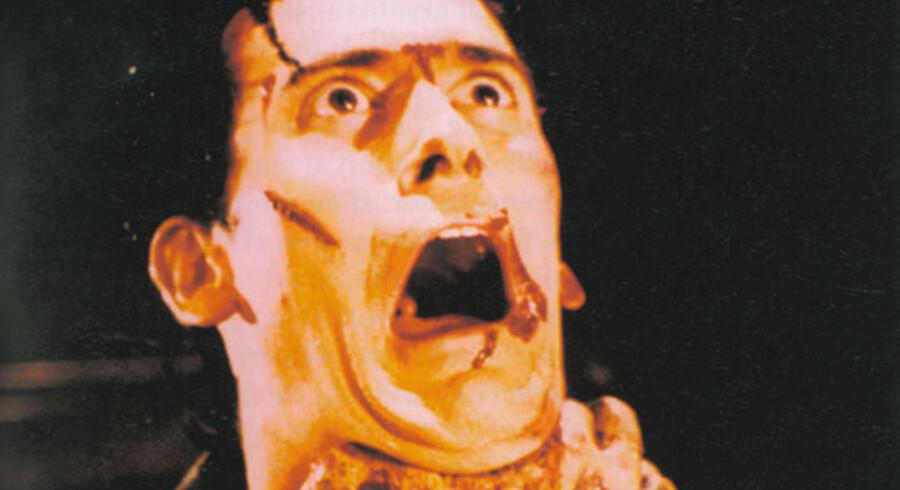 Peter Schepelerns »Filmleksikon« lider ikke af berøringsangst. Alle genrer er med. Her er det en scene fra Sam Raimis skrækfilm »The Evil Dead«.