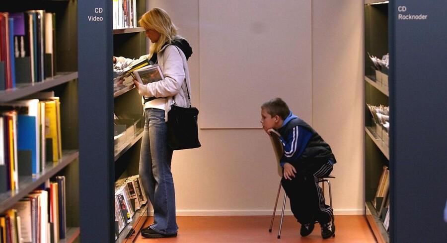 Albertslund Bibliotek. Arkivfoto.