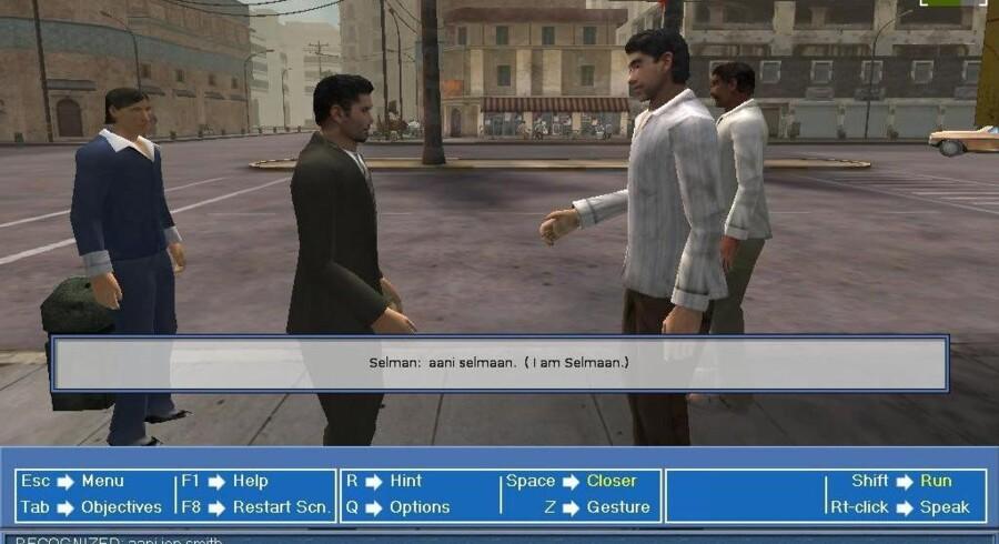 Det er dette amerikanske computerspil, der nu skal fordanskes og bruges som sproglig og kulturel integrationsfremmer.