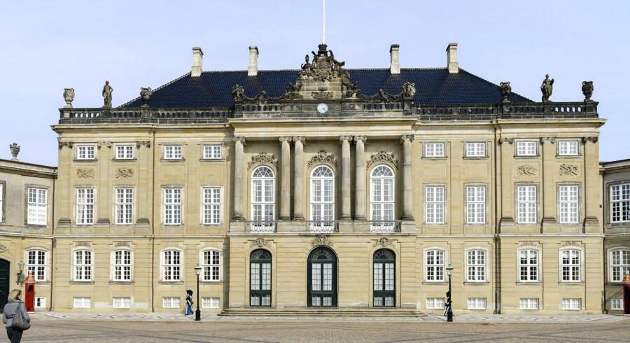 Amalienborg Slotsplads Frederik VIII's Palæ Frederik d 8 palæ