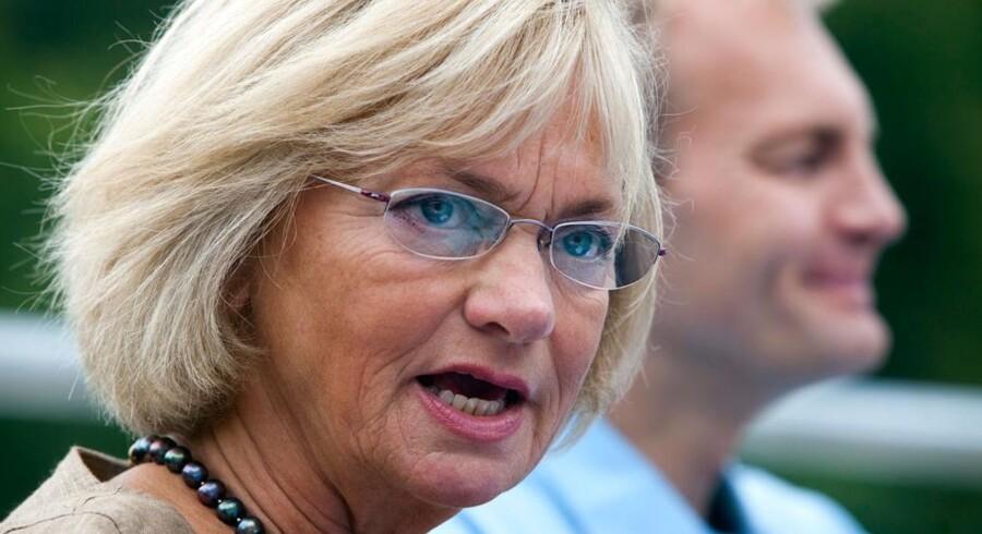 Dansk Folkepartis leder Pia Kjærsgaard.