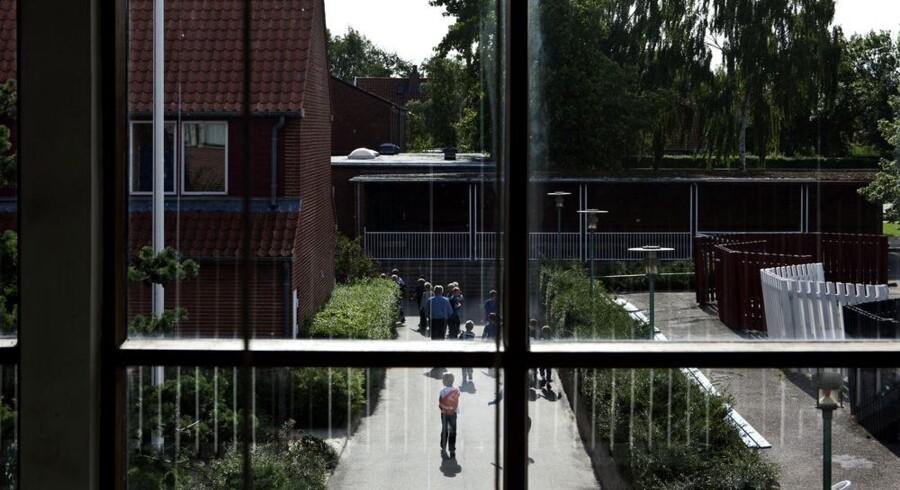 Lindebjergskolen er en af de mange lukningstruede skoler.