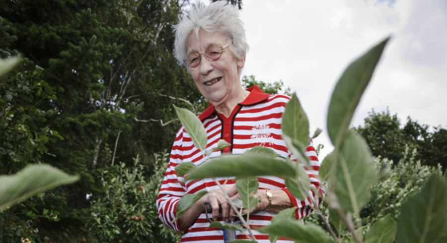 79-årige Eli Jakobsen fik konstateret AMD i december sidste år. Nu har hun fået behandlinger, der har bremset sygdommen, men hun har fortsat svært ved at læse avis og se TV. Og hun kommer nok ikke til at køre bil igen.