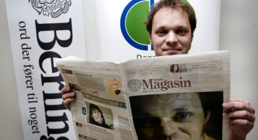 Morten Ramsland efter gårsdagens prismodtagelse. Foto: Bo Amstrup
