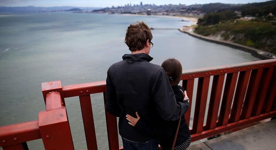 Selvmords-net skal redde liv på Golden Gate Bridge i San Francisco.