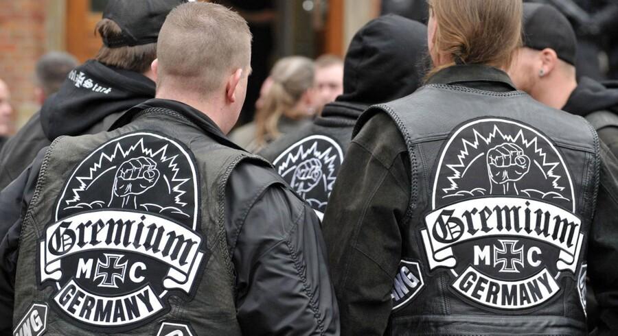 Tyske medlemmer af Gremium MC.