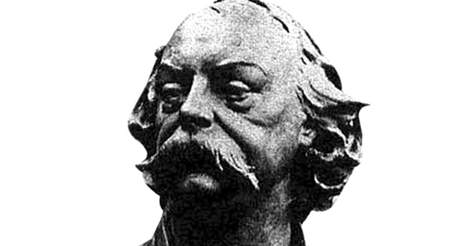 """Gustave Flaubert (1821-80) blev født i Normandiet i Frankrig. Han viste tidligt talent for at skrive, men blev sendt til Paris for at studere jura. Han blev senere fuldtidsforfatter og fik et opsigtsvækkende gennembrud med romanen """"Madame Bovary"""" i 1857."""