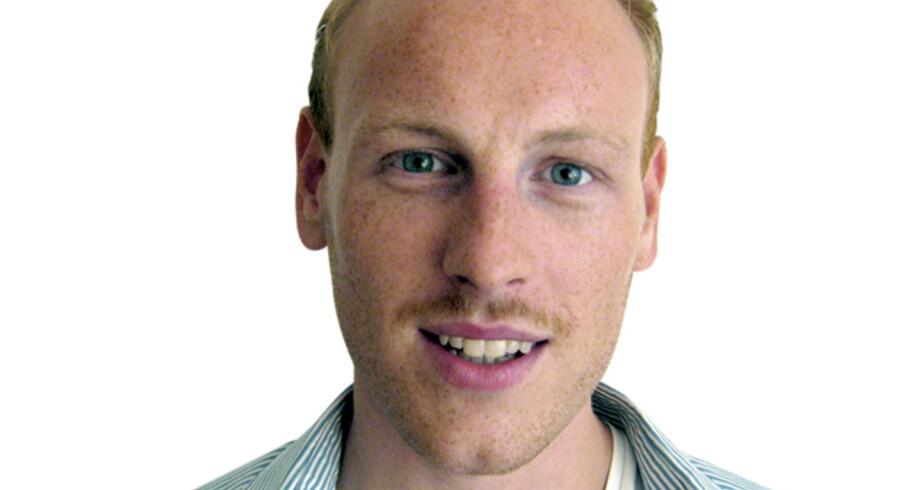 Magnus Harald Haslebo, journaliststuderende